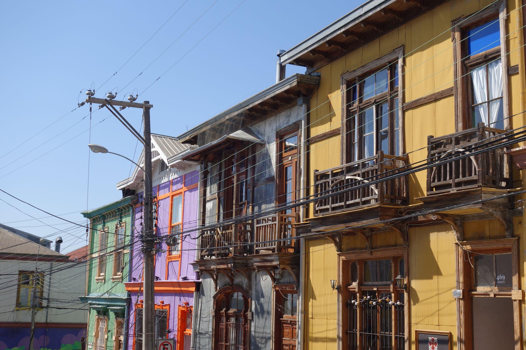Façades_Valparaiso