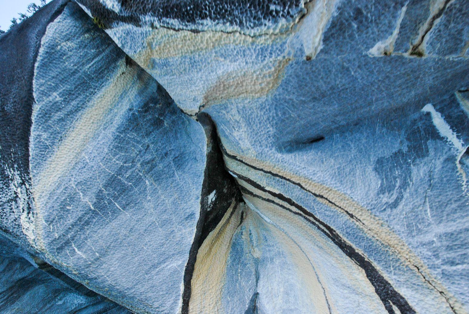 Carretera Austral_texture marbre