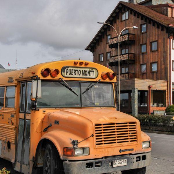 Chili_Bus Puerto Montt
