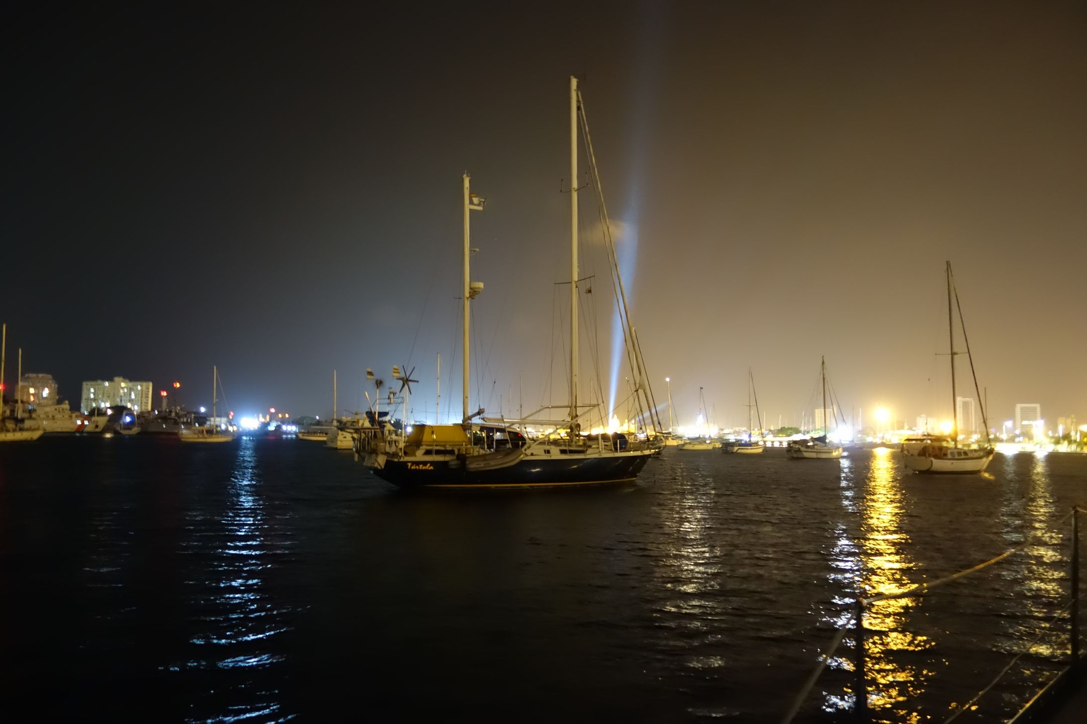 Colombie_Port Carthagène