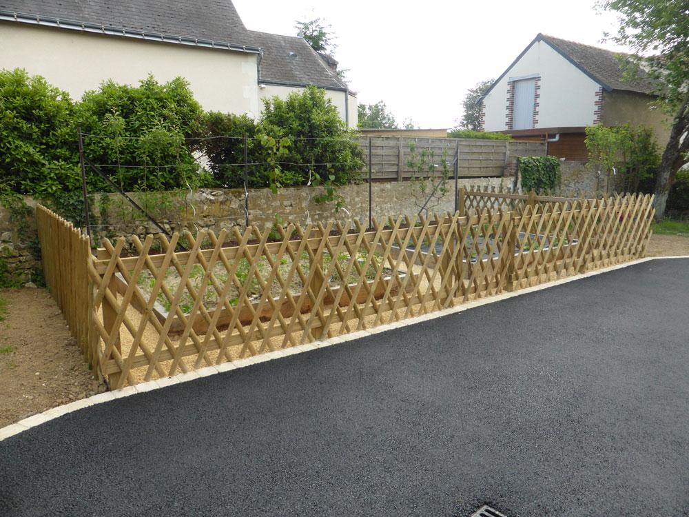 pose de clôture 37