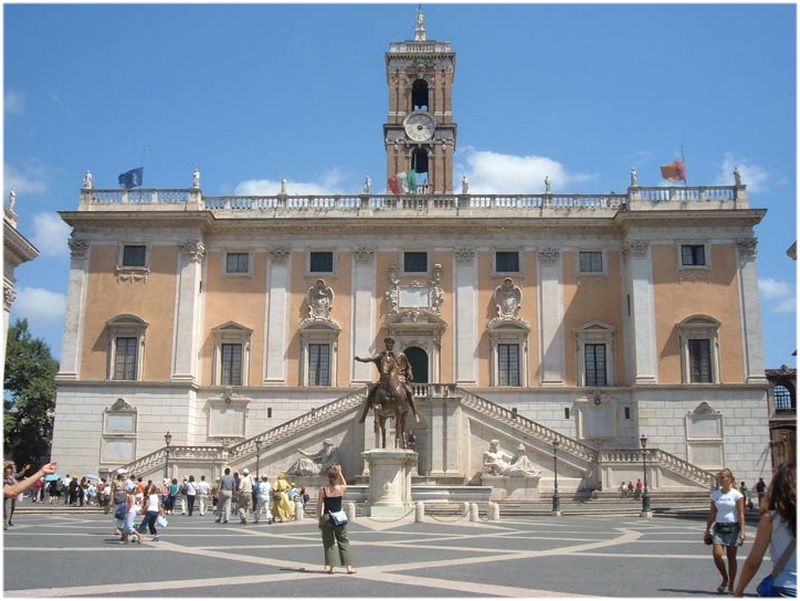 Musee Capitole Rome Italie Cap Voyage