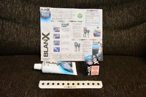 BLANX付属品と説明書