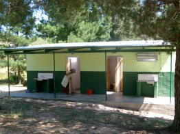 Ablution block at Beaverlac, Cederberg