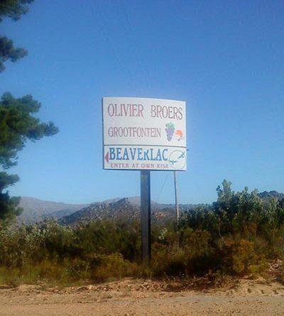 Beaverlac Sign