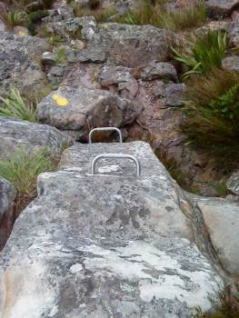 """Metal """"staples"""" on the India—Venster Route"""