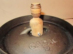Wooden Potjie Lid Handle