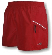 first Ascent AR-X shorts red