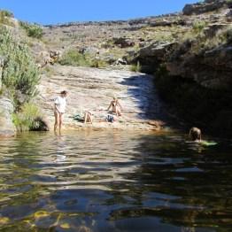 Matroosberg rock pool