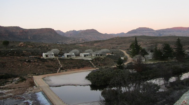 Cottages and drift, Sanddrif, Dwarsrivier, Central Cederberg