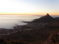 Lion's Head from Kasteelspoort, Table Mountain