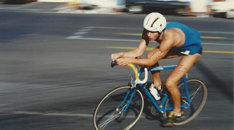 Silencer Longmile Triathlon, Gordon's Bay, 1989