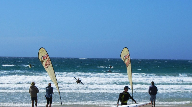 Long course finishers, Hansa 3 Beaches, Best 4 Surfski Series