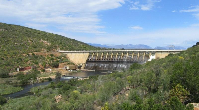Clanwilliam Dam wall