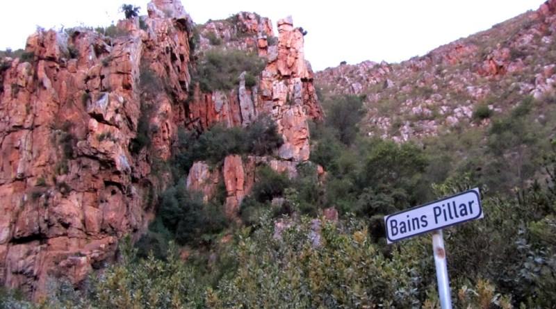 Bain's Pillar, Prince Alfred's Pass