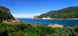 View through the Knysna Heads, East Head Café