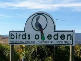 Birds of Eden entrance