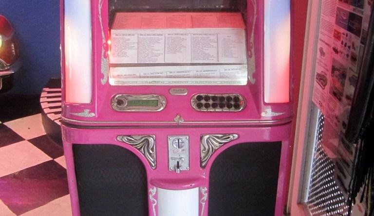 Jukebox at Marilyn's 60's Diner