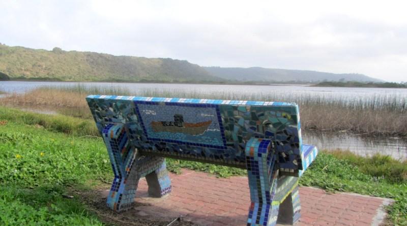 Mosaic bench, Sedgefield Lagoon