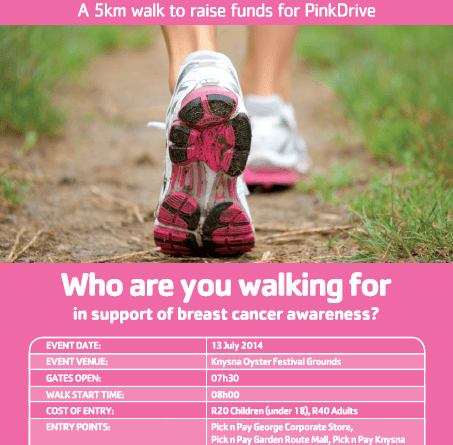 Pick 'n' Pay Women's Walk 2014