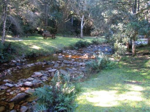 Jubilee Creek picnic area