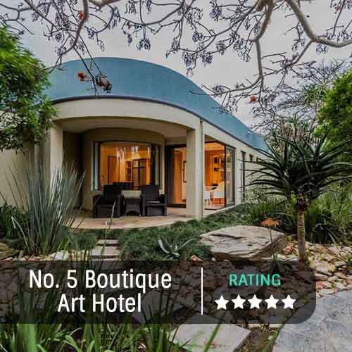 No. 5 Boutique Art Hotel Featured Image 500x500