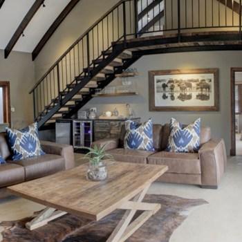 Botlierskop Luxury Bush Villas Lounge