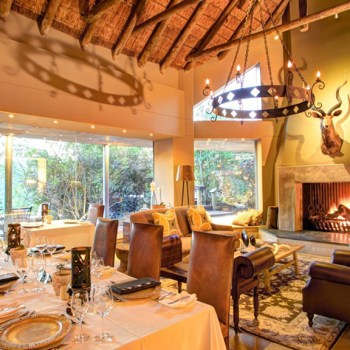 Botlierskop Tented Lodge Lounge