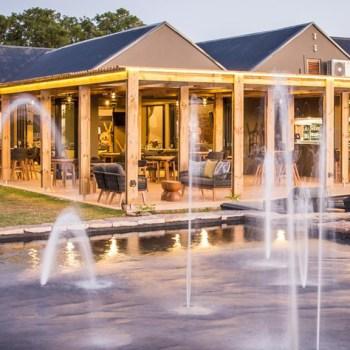 Botlierskop Village Lodge Water Fountain
