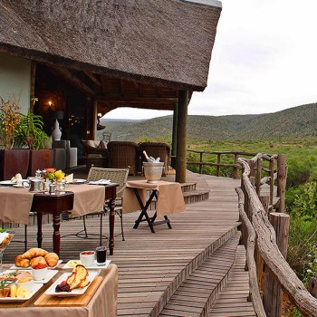 Great Fish River Lodge Deck View