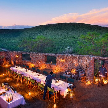 Great Fish River Lodge Outdoor Dining