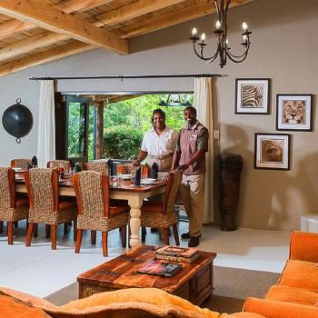 Kariega Homestead Lounge Area