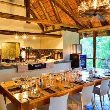 Lobengula Lodge Dining Area
