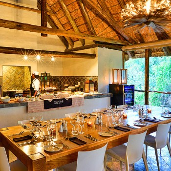 Lobengula Lodge Dining Area