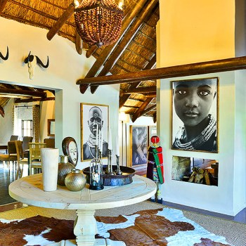 Lobengula Lodge Entrance Hall