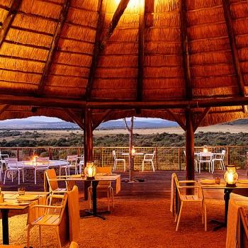 Riverdene Family Lodge  Boma Area