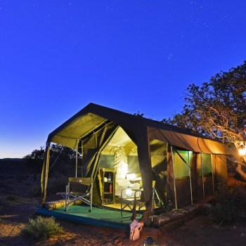 Sanbona Explorer Camp Night View