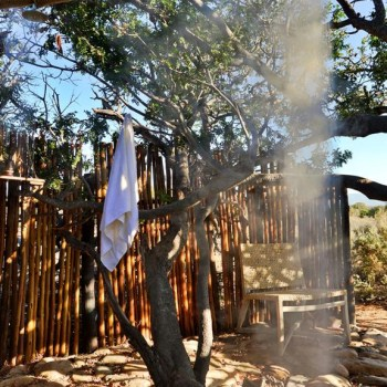 Sanbona Explorer Camp Shower