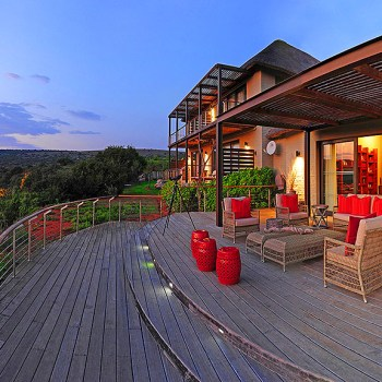 Sarili Lodge Deck Area