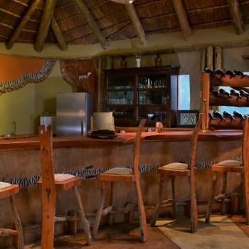 Sibuya Bush Lodge Bar Area