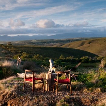 Tented Eco Camp Lunching