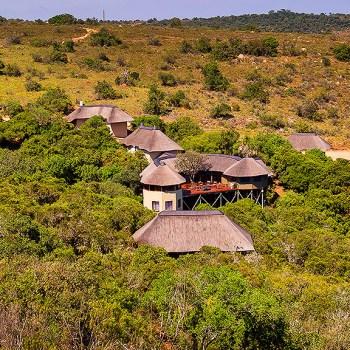 Tree Top Safari Lodge Aerial View