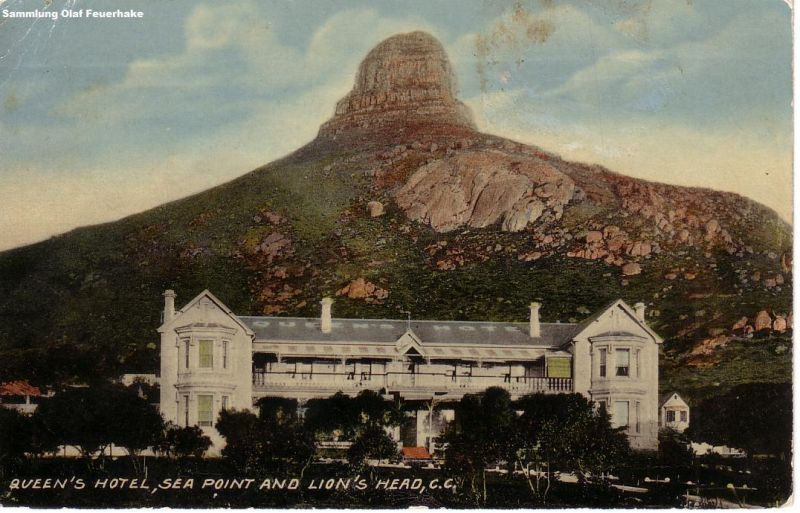 Image result for Queen's hotel Cape Town 1910