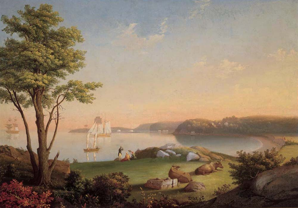 Field Beach Stage Fort Park By Mary Blood Mellen Cape Ann Museum An American Art Museum Just