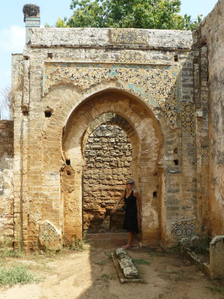 Necropolis of Chellah // Morocco