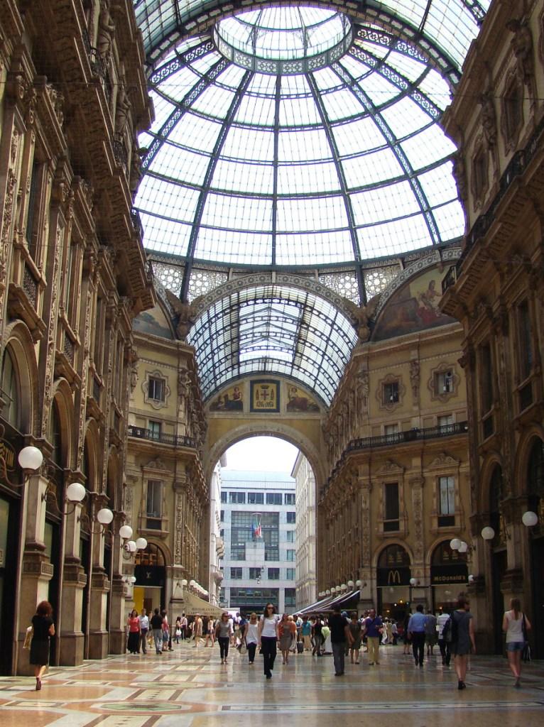 Galleria Vittoria Emanuele II // Italy