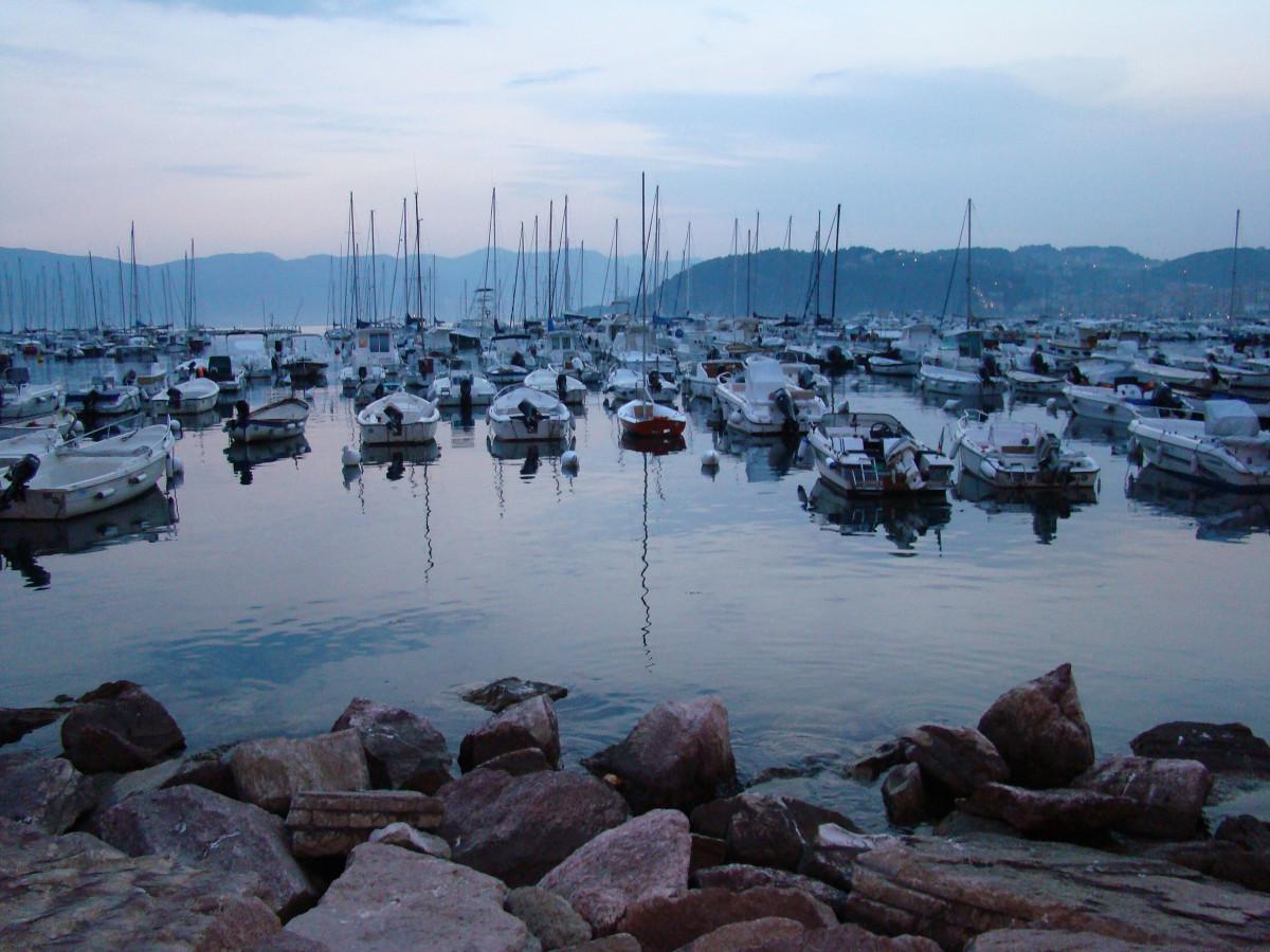 Rapallo harbour // Italy