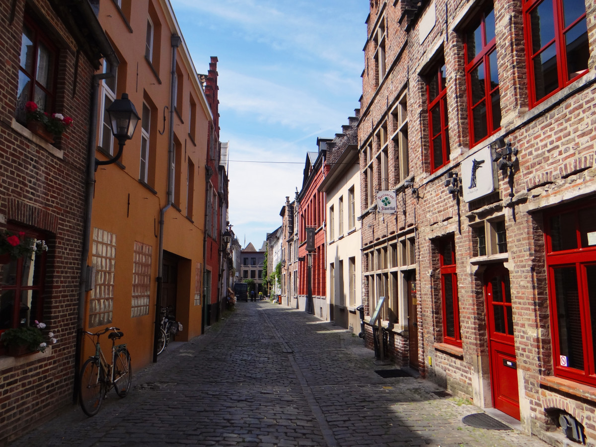 Belgium Ghent Medieval City
