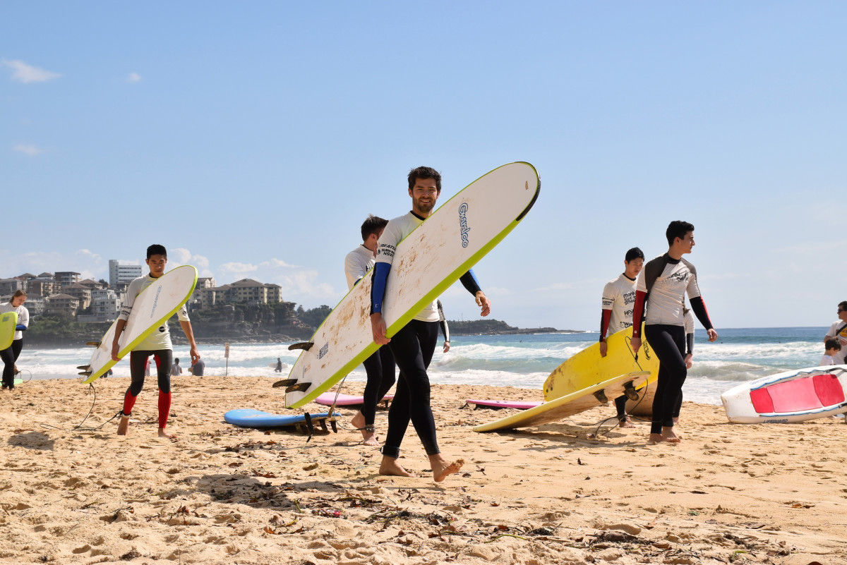 Manly Beach Surfing Sydney