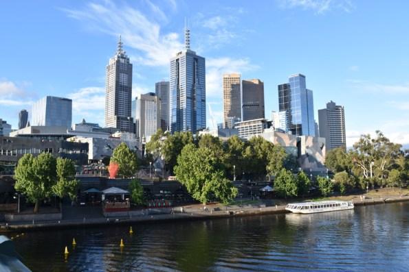 Melbourne Yarra River Victoria Australia